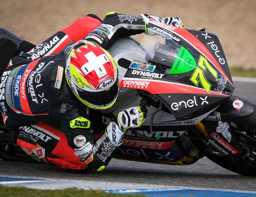Aegerter tretji najhitrejši po prvem MotoE testiranju v Jerezu