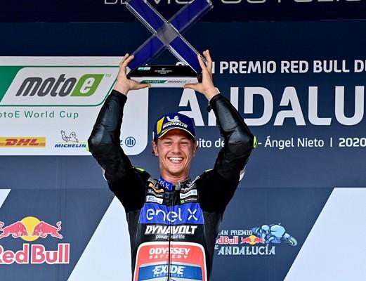 Aegerter je v Andaluziji dosegel spektakularno zmago