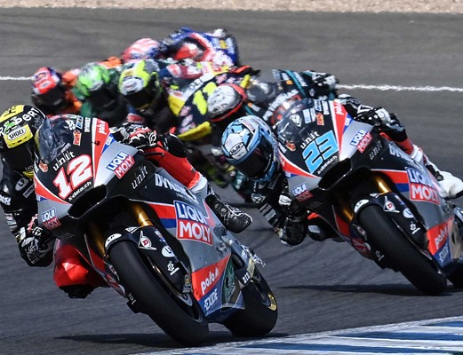 Lüthi in Schrötter sta zaključila Jerez z uvrstitvijo med deseterico