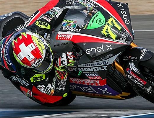 Dobra predsezonska predstava Dominiqueja Aegerterja  na testu v Jerezu