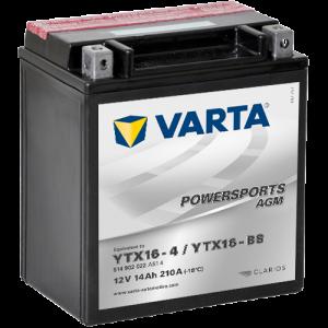 Moto akumulator Varta YTX16-BS 12V-14Ah