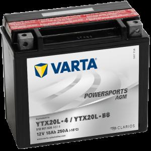 Moto akumulator Varta YTX20L-BS 12V-18Ah