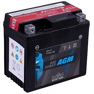 Moto akumulator Intact AGM YTX5L-BS 12V-4Ah