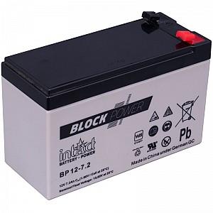 Akumulator intact Block-Power 12V-7.2Ah
