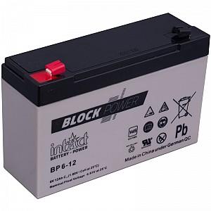 Akumulator intact Block-Power 6V-12Ah
