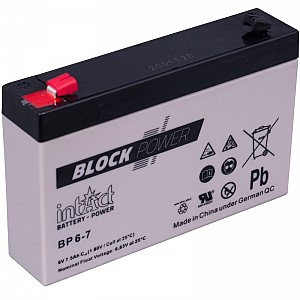 Akumulator intact Block-Power 6V-7Ah