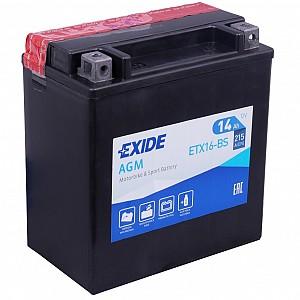 Moto akumulator Exide ETX16-BS 12V-14Ah