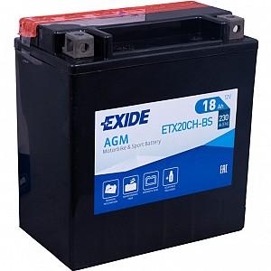 Moto akumulator Exide  ETX20CH-BS 12V-18Ah