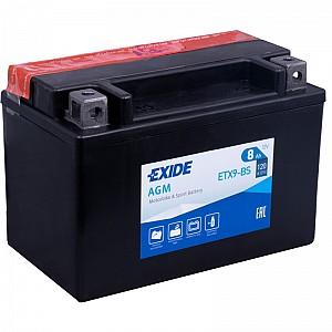 Moto akumulator Exide ETX9-BS 12V-8Ah