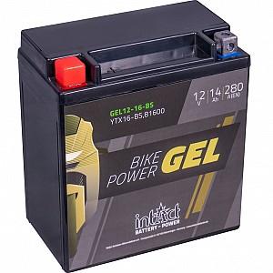 Moto akumulator Intact GEL YTX16-BS 12V-14Ah