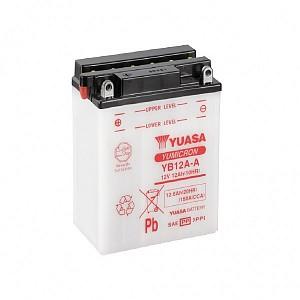 Moto akumulator Yuasa YB12A-A 12V-12Ah