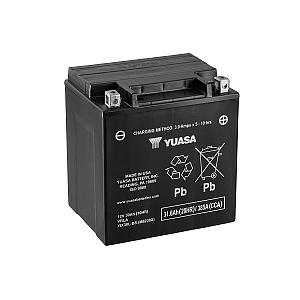 Moto akumulator Yuasa AGM YIX30L-BS 12V-30Ah