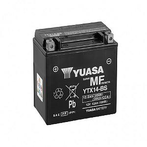 Moto akumulator Yuasa AGM YTX14-BS 12V-12Ah