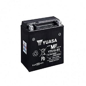 Moto akumulator Yuasa AGM YTX16-BS 12V-14Ah