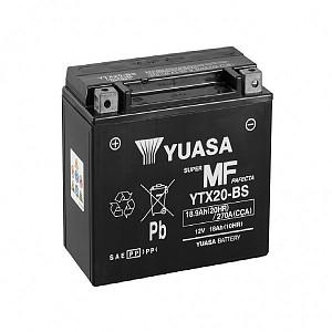 Moto akumulator Yuasa AGM YTX20-BS 12V-18Ah