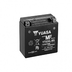 Moto akumulator Yuasa AGM YTX20L-BS 12V-18Ah
