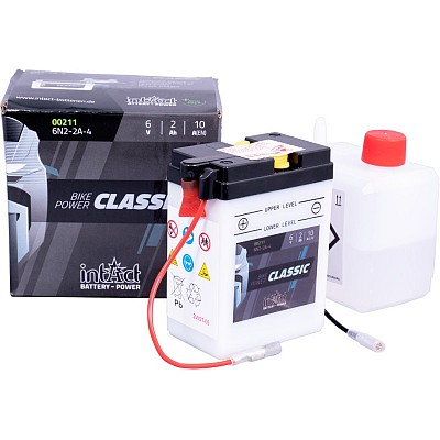 Moto akumulator Intact 6N2-2A-4 6V-2Ah