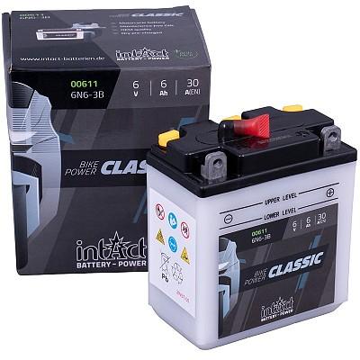 Moto akumulator Intact 6N6-3B 6V-6Ah