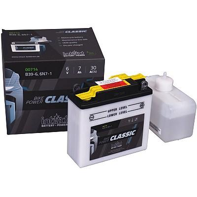 Moto akumulator Intact B39-6 6V-7Ah