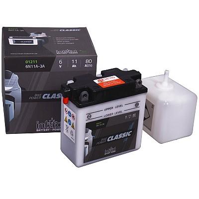 Moto akumulator Intact 6N11A-3A 6V-11Ah