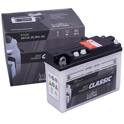 Moto akumulator Intact 6N12A-2D 6V-12Ah