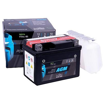 Moto akumulator Intact AGM YTX4L-BS 12V-3Ah