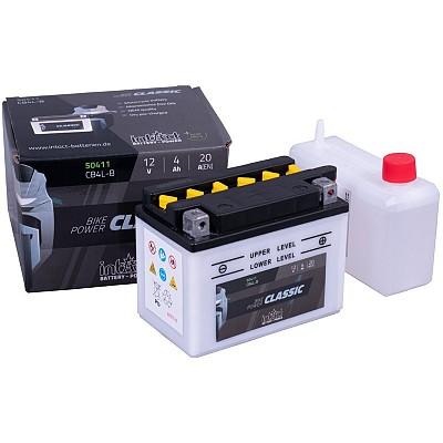 Moto akumulator Intact CB4L-B 12V-4Ah