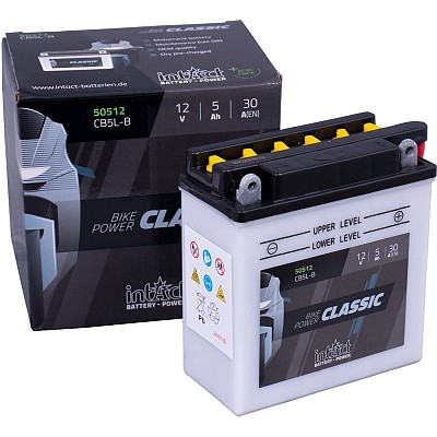 Moto akumulator Intact CB5L-B 12V-5Ah