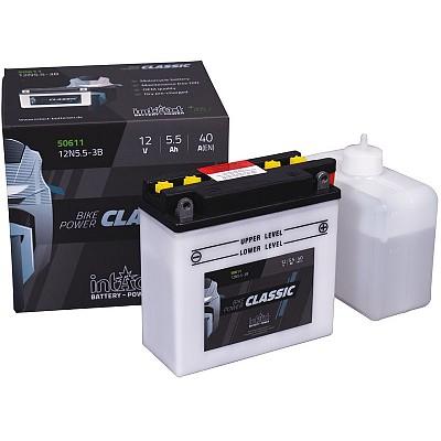 Moto akumulator Intact 12N5.5-3B 12V-5.5Ah