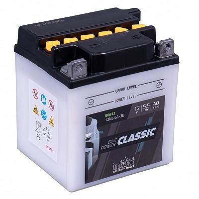 Moto akumulator Intact 12N5.5A-3B 12V-5.5Ah