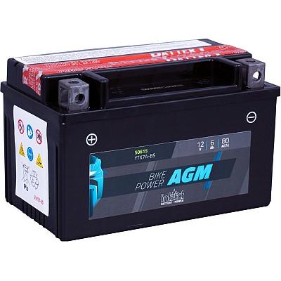 Moto akumulator Intact AGM YTX7A-BS 12V-6Ah