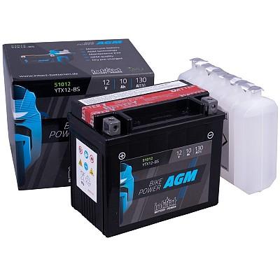 Moto akumulator Intact AGM YTX12-BS 12V-10Ah