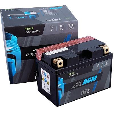 Moto akumulator Intact AGM YTX12A-BS 12V-10Ah