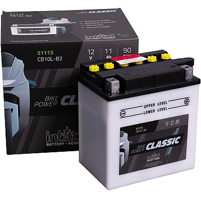 Moto akumulator Intact CB10L-B2 12V-11Ah