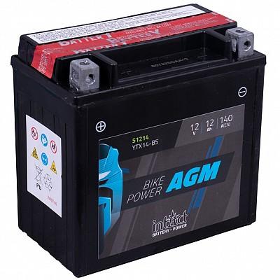 Moto akumulator Intact AGM YTX14-BS 12V-12Ah