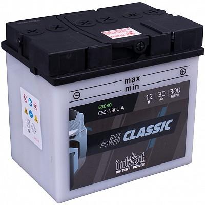 Moto akumulator Intact C60-N30L-A 12V-30Ah
