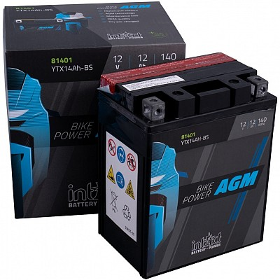 Moto akumulator Intact AGM YTX14AH-BS 12V-12Ah