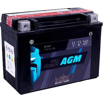 Moto akumulator Intact AGM YTX15-BS 12V-15Ah