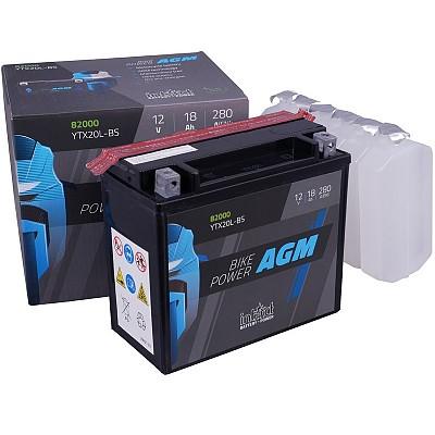 Moto akumulator Intact AGM YTX20L-BS 12V-18Ah