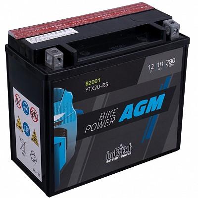 Moto akumulator Intact AGM YTX20-BS 12V-18Ah