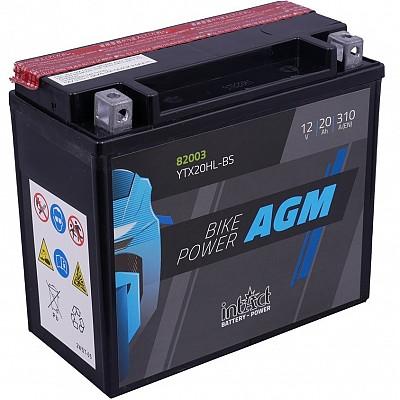 Moto akumulator Intact AGM YTX20HL-BS 12V-20Ah