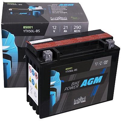 Moto akumulator Intact AGM YTX50L-BS 12V-21Ah
