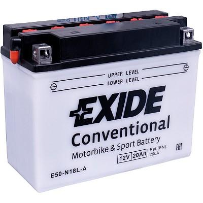 Moto akumulator Exide  E50-N18L-A 12V-20Ah