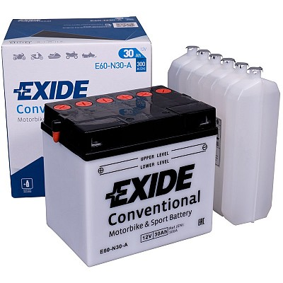 Moto akumulator Exide  E60-N30-A 12V-30Ah