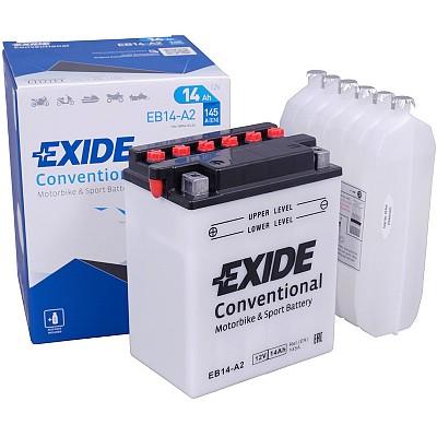 Moto akumulator Exide EB14-A2 12V-14Ah