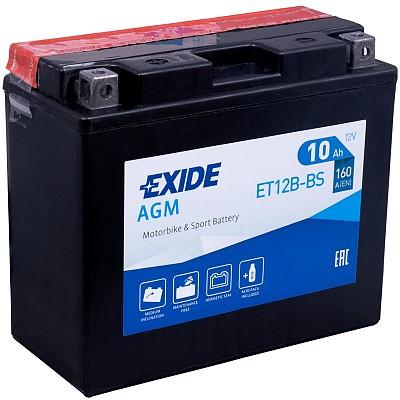 Moto akumulator Exide ET12B-BS 12V-10Ah