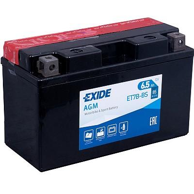 Moto akumulator Exide  ET7B-BS 12V-7Ah