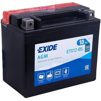 Moto akumulator Exide  ETX12-BS 12V-10Ah