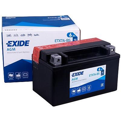 Moto akumulator Exide  ETX7A-BS 12V-6Ah