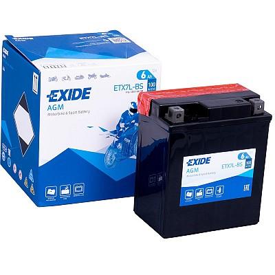 Moto akumulator Exide ETX7L-BS 12V-6Ah